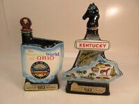 Two Vintage Jim Beam  Decanters ''EMPTY''