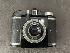 Vintage Beacon II Camera With Leather Case Whitehouse Products Inc. Made in USA