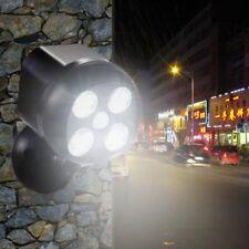 Motion Sensor PIR Battery Powered Wall Spotlight LED Garden Security Lights
