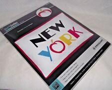 New York Embroidery Kit Artiste Pillow Case Big Apple Zweigart Kooler Craft NIP