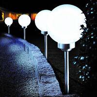 Bonetti LED Solar Gartenkugel Ø 25 cm Solarlampe Gartenlampe Dekoleuchte Außenle