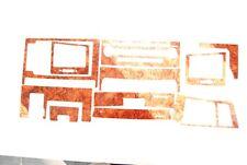 NEW Wood Grain Auto Interior Dash Trim Kit for Toyota Land Cruiser 2008-2011