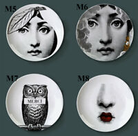 NEW Fornasetti Plate Wall Painting Dish Ceramic Artistic Craft Desk Decoration