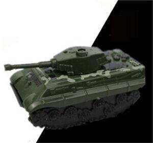 Green Tank Cannon Model Miniature 3D Toys Hobbies Kids Educational Gift IAEB.$l