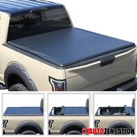 """For 2014-2019 Ford F-150 5.5ft 5'6"""" 66"""" Short Bed Soft Roll Up Tonneau Cover"""