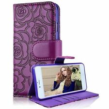 Patterned Synthetic Leather Wallet Cases for iPhone 6s Plus