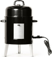Masterbuilt Electric Bullet Charcoal Free Easy Automatic Outdoor Smoker Grill