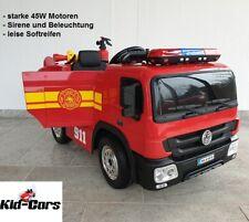 Feuerwehrauto 2x 45W Kinderfahrzeug Kinderauto Kinder Feuerwehr Feuerwehrtruck