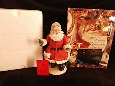 "10"" Duncan Royale SODA POP  Santa Figurine w Hang Tag 1983"