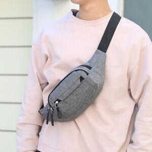 Sports Waist Belt Bag Purse Hip Pouch Travel Crossbody Travel Running Big Bags