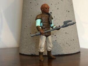 Vintage Kenner Star Wars ROTJ Weequay Action Figure ORIGINAL And COMPLETE