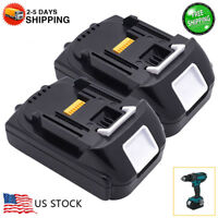 2 X New 18V 1.5Ah Lithium Ion Battery LXT For Makita BL1830 BL1815 Pack 18Volt