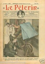 British Army Medical Service Indoor Rower Expérience England 1927 ILLUSTRATION