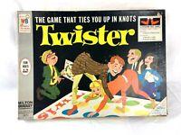 Vintage 1966 Milton Bradley Twister Board Game Complete In Box