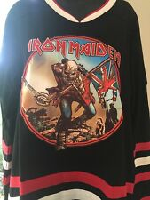 Iron Maiden  Hockey Jersey Trooper Event Shirt Small  Only