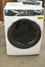 """Ge Gfd85Essnww 28"""" White Front Load Electric Dryer Nob #105049"""