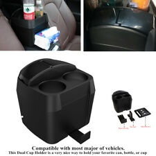 Cup Holder Plastic Stand Car Trash Box Rubbish Garbage Container Dust Bin Device