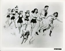ELVIS PRESLEY JUDY TYLER JAILHOUSE ROCK  1957 VINTAGE PHOTO ORIGINAL  #2