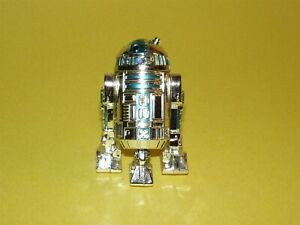 Star Wars Saga 2002 Silver R2-D2 Loose