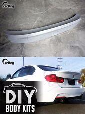 CARKING DIY // 12+ UNPAINTED BMW F30 CSL style 320 328i Rear Trunk Spoiler 335i