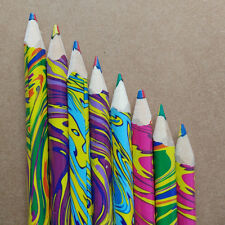 20pcs/set Rainbow 4 in 1 Colored Pencil Artist Drawing Pencils Writing Sketching