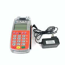 VeriFone Vx520 Emv Credit Card Machine + Power Supply Red