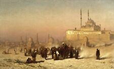 """Louis Comfort Tiffany : """"On the Way Between Old and New Cairo"""" — Fine Art Print"""