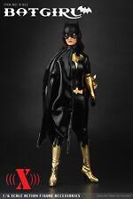 """X-TOYS X-011 1/6 Scale Female BATGIRL Suit Set For 12"""" Woman Figure"""