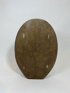 R&Y Augousti Classic Oval Vase L in Mink €840