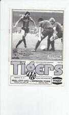 Hull City Division 3 Home Teams F-K Football Programmes