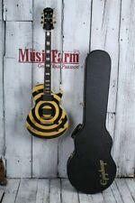 Epiphone 2005 SIGNED Zakk Wylde Les Paul Custom Bullseye Electric Guitar w Case