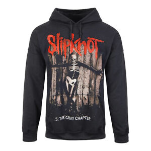 Official Hoodie SLIPKNOT Black GRAY CHAPTER Print Band Hooded Top All Sizes