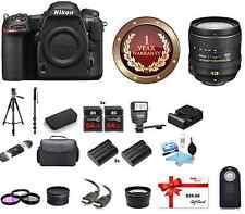 Nikon D500 DSLR Camera W/ 16-80mm Lens MEGA BUNDLE W/ $35 GC BUNDLE! NEW