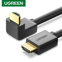 Ugreen HDMI Cable Angled 4K Ultra HD With Ethernet Audio Return for PS4 Xbox 3D