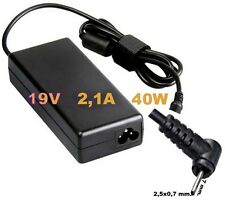 Alimentatore carica-batteria x Netbook ASUS Eee PC 1005HA 1008HA 1101HA + Cavo