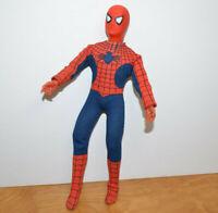 """Vintage MEGO 12"""" SPIDERMAN Action Figure Doll 1977 Broken Leg Nice Suit Marvel"""