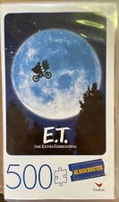 Blockbuster E.T 500 Piece Puzzle New Plastic VHS-Inspired Case