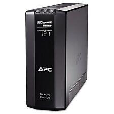 APC BR1000G Back-UPS Pro 1000 Battery Backup System, 8 Outlets, - APWBR1000G