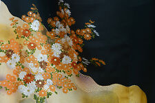 Vintage Japanese silk  Kimono  TOMESODE from Japan 7-5
