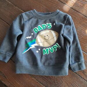 Daddy's Mvp Football Sweatshirt Garanimals 12 Month