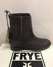 New - Women's Frye Cara Short Smoke Leather Boots Size 8