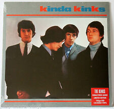 THE KINKS Kinda Kinks LP RED vinyl Eur 2015 Sony Legacy New/Sealed