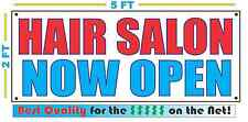HAIR SALON NOW OPEN Banner Sign NEW Larger Size Best Quality for the $$$