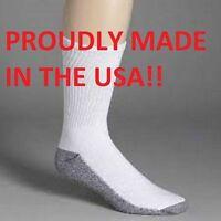 Dickies Men's Work Socks, Mens crew socks Made In The USA Free Shipping