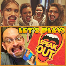 Speak out game Mouthpieces (5pcs) Hilarious family board party time game