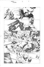 VALIANT Comics BLOODSHOT REBORN #3 page 17 Mico Suayan Original Published Art