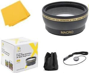 Wide Angle Lens Kit for Fuji HS50EXR HS35EXR HS30EXR HS28EXR HS25EXR S9600 S9100