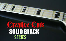 Blocks BLACK Fret Markers block Vinyl Inlay Stickers Decal for Jazz or ANY BASS