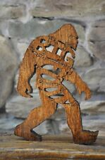 Big Foot Sasquatch Bigfoot Amish Made Wood Toy Puzzle  Animal Made USA