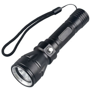 Diver Torch LED Waterproof Scuba Diving Flashlight Dive Underwater 100M TorcF1B6